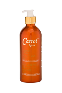 Original Carrot Glow Intense Toning/ Whitening Milk lotion  500m