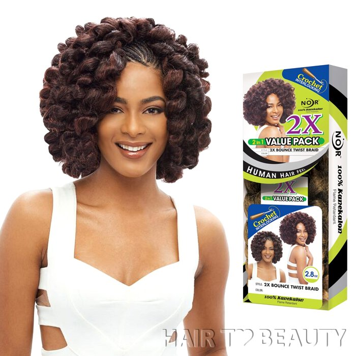 2X BOUNCE TWIST BRAID 14 Inch - Janet Collection Kanekalon Croch