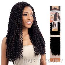 MODEL MODEL SYNTHETIC HAIR BRAIDS GLANCE BOHEMIAN CURL