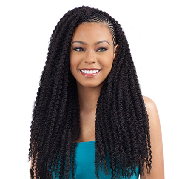 MODELMODEL SYNTHETIC HAIR CROCHET BRAIDS GLANCE CARIBBEAN TWIST