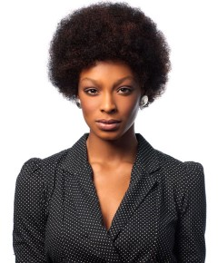 SLEEK 100%HUMAN HAIR WIG AFRO